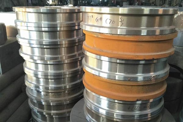 钢水包车轮